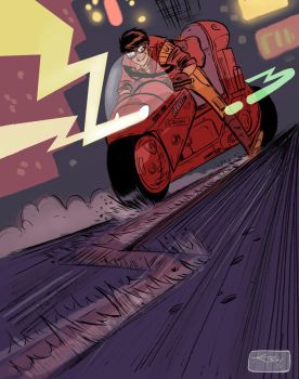 Thats Mr Kaneda to you punk by ktshy
