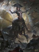 Quezia, Carapace Queen - Advanced by BillCreative