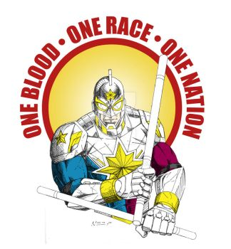 Sandata One Blood One Race One Nation by nerp