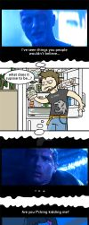 Home Alone (1): the fridge by Acard