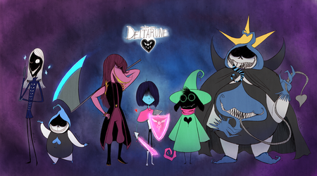 DELTARUNE by Atlas-White