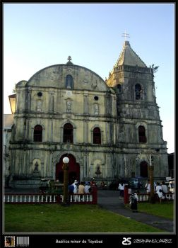1 - basilica minor de tayabas by zorrospider