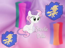 Sweetie Belle Android 640x480 WP by TecknoJock