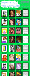 The Clever Belovers Voice Actor Meme by Magic-Kristina-KW