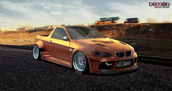 BMW M3 PICK UP by TMSVirtualTuning