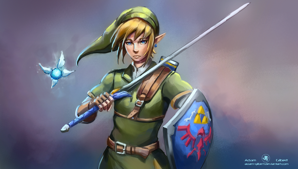 Link - Commission by Adam-Gilbert