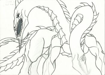 The Mad God of Greed.WIP by BLACKSKULL13