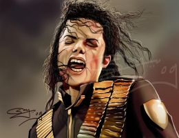 MICHAEL JACKSON by sanjun