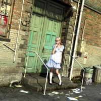 Alice in the alley by anitalee