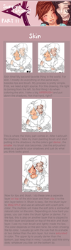 Drawing Tutorial [Part II: Skin] by TheHumanHeart