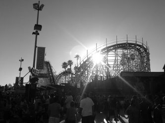 Santa Cruz Beach Boardwalk by kawaiku