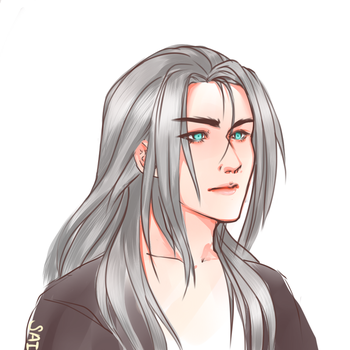 Sephiroth Softy by XHolyKnightAgrias