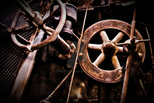 Rusted Wheels by TwilitLens