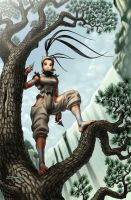 Ibuki B Cover SF 2 Turbo by Omar-Dogan