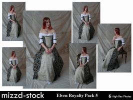 Elven Royalty Pack 5 by mizzd-stock