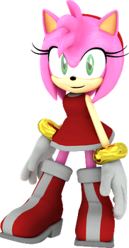 Sonic Boom Amy Rose Pose by JaysonJean