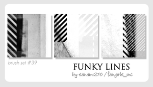 Funky lines by Sanami276