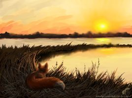 The smell of the sunset by GreenAmb