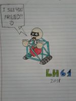 1st Prize drawing by LuigiHorror64