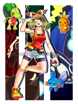 Pokemon_Omega Ruby and Alpha Sapphire by KiaCookie