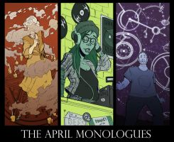 The April Monologues by TopHatTruffles