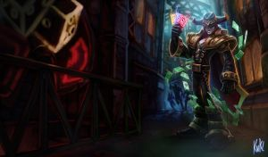LoL - Twisted Fate by KNKL