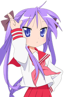Tickle and/or Hypnotize Kagami Hiiragi RP by thandc