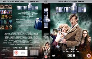 DOCTOR WHO SERIES 5 DVD COVER by MrPacinoHead
