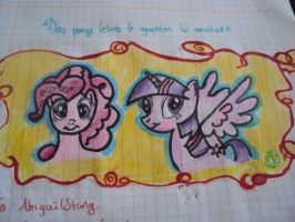 Happy ponys who thanks your frienship!! by 24-1