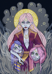 Three sisters by W-Dobro