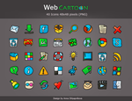 Icons Pack 'Web Cartoon' by shlyapnikova