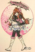 Rose Child (DTA entry) by BLxINK