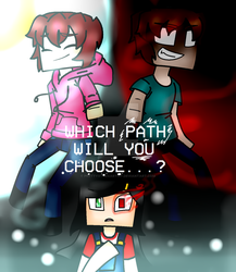 Minecraft Story Mode: The Path by PrettyXTheXArtist