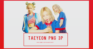TaeYeon WHY Part3 3P PNG by vul3m3