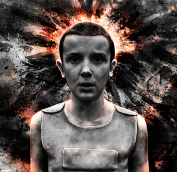 Stranger Things - Eleven by p1xer
