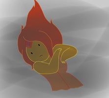 Flame Princess by GothicSnowflake