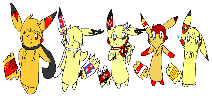 The Asian Five by celexte