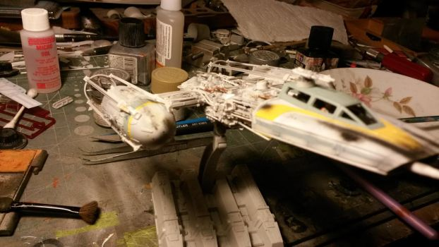 1/72 scale Y-wing 2 by THE-WHITE-TIGER
