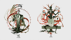 Horrorscope :Scorpio/Gemini by NanoMortis