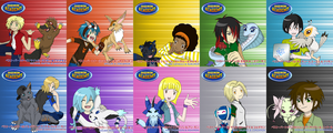 Digimon Academy: Best Partner Singles by SulfuricAcid