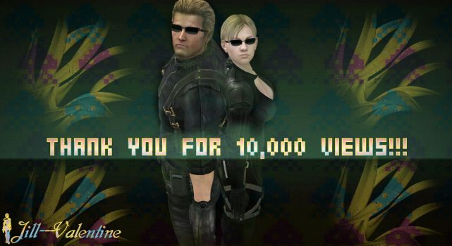 Thank You For 10,000 by Jill---Valentine