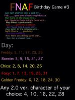 FNAF/FNAF2 Birthday Game #3 by EmilSteilsson8