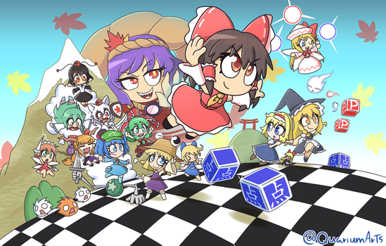 Super Touhou Project 3! by Quarium