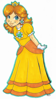 Princess Daisy by SparrowDraws