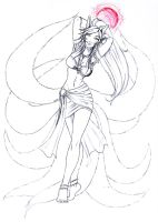 Ahri, The 9 Tails Fox by Noctume