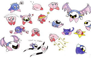 My scanner cut Meta Knight's wings... by Thefangirl4848