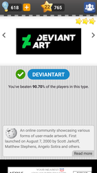 DeviantArt Quiz Logo by Wildfire-Cats