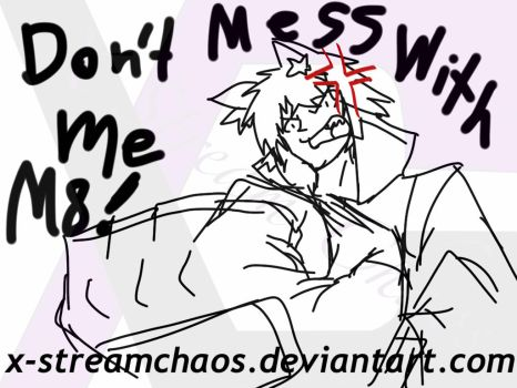 Don't Mess With Me M8! by X-StreamChaos