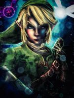 The Darkness of Link (No Majora Mask) by studiomuku