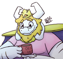 Asgore by LeoTheLionel